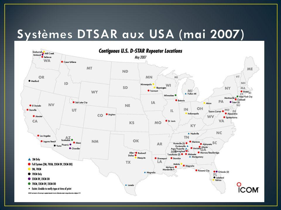 Systèmes DTSAR aux USA (mai 2007)