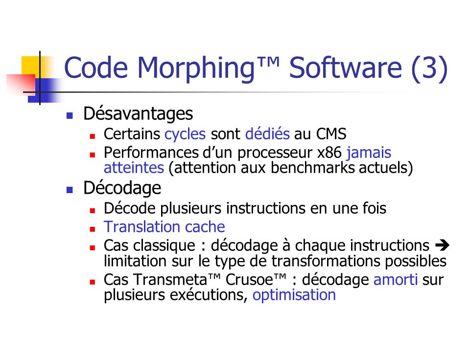 Code Morphing™ Software (3)