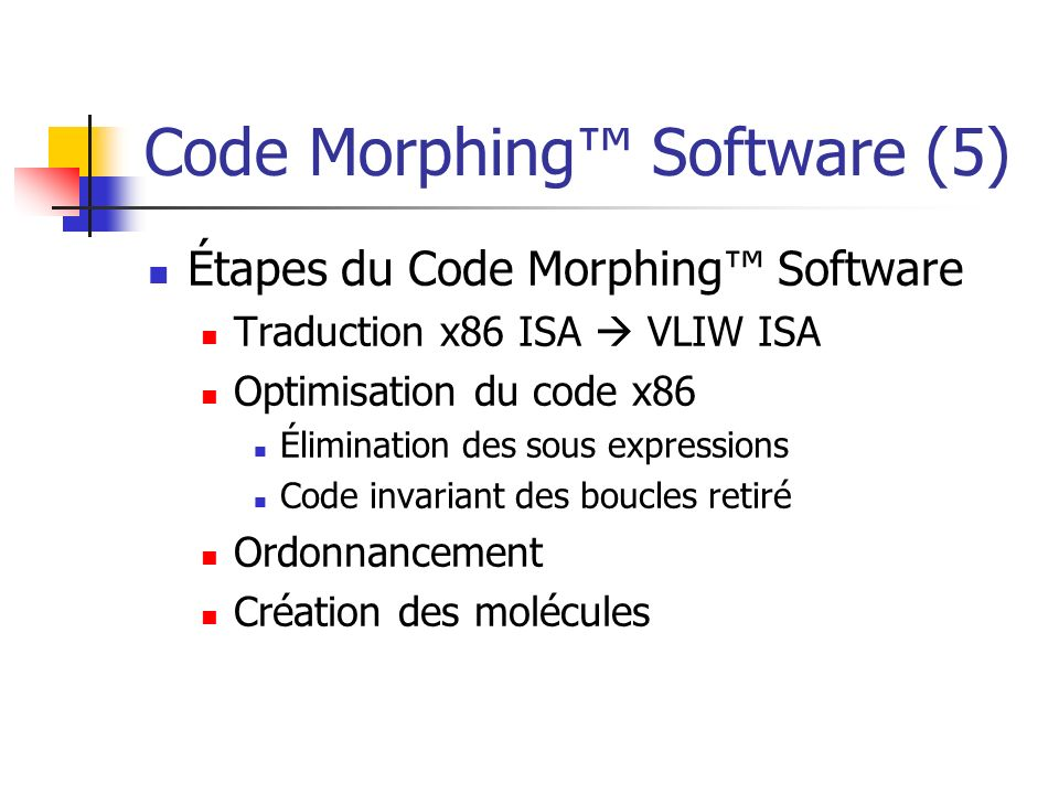 Code Morphing™ Software (5)