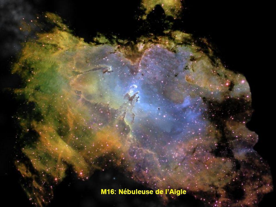 M16: Nébuleuse de l'Aigle