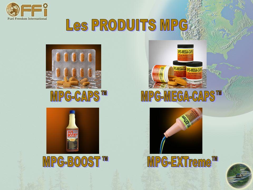 Les PRODUITS MPG MPG-CAPS MPG-MEGA-CAPS MPG-BOOST MPG-EXTreme TM TM TM