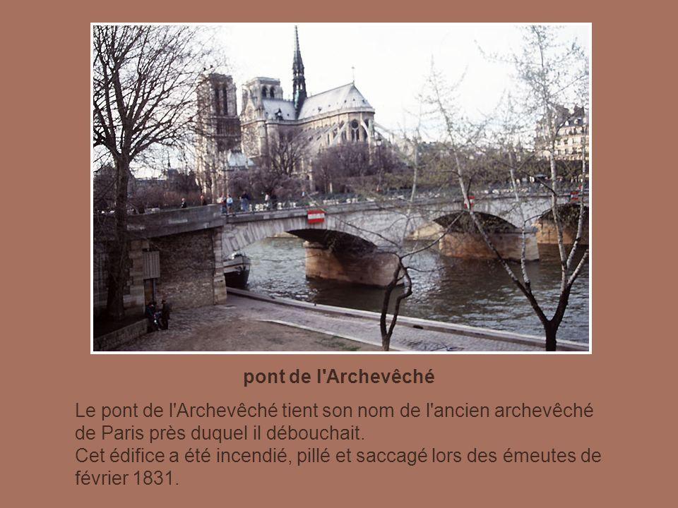 pont de l Archevêché