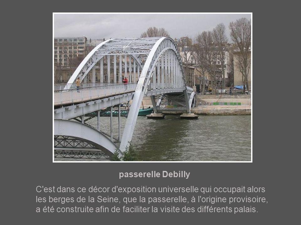 passerelle Debilly