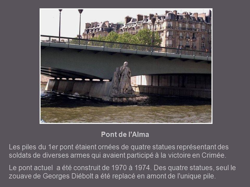 Pont de l Alma