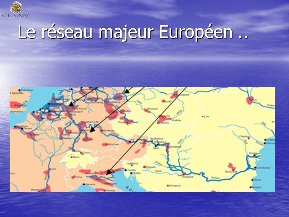 Le réseau majeur Européen ..