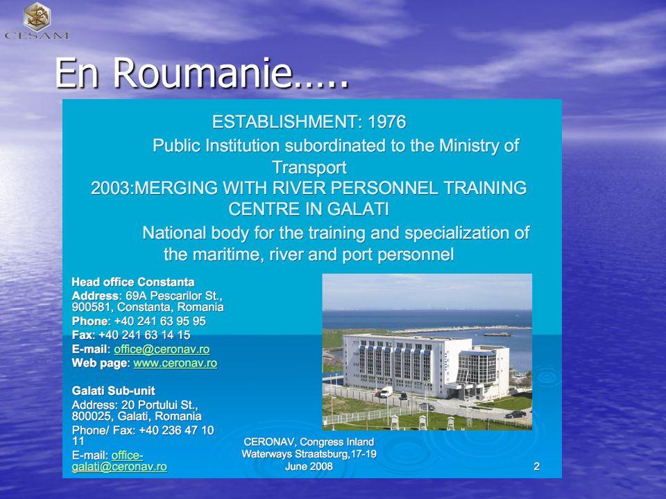 En Roumanie…..