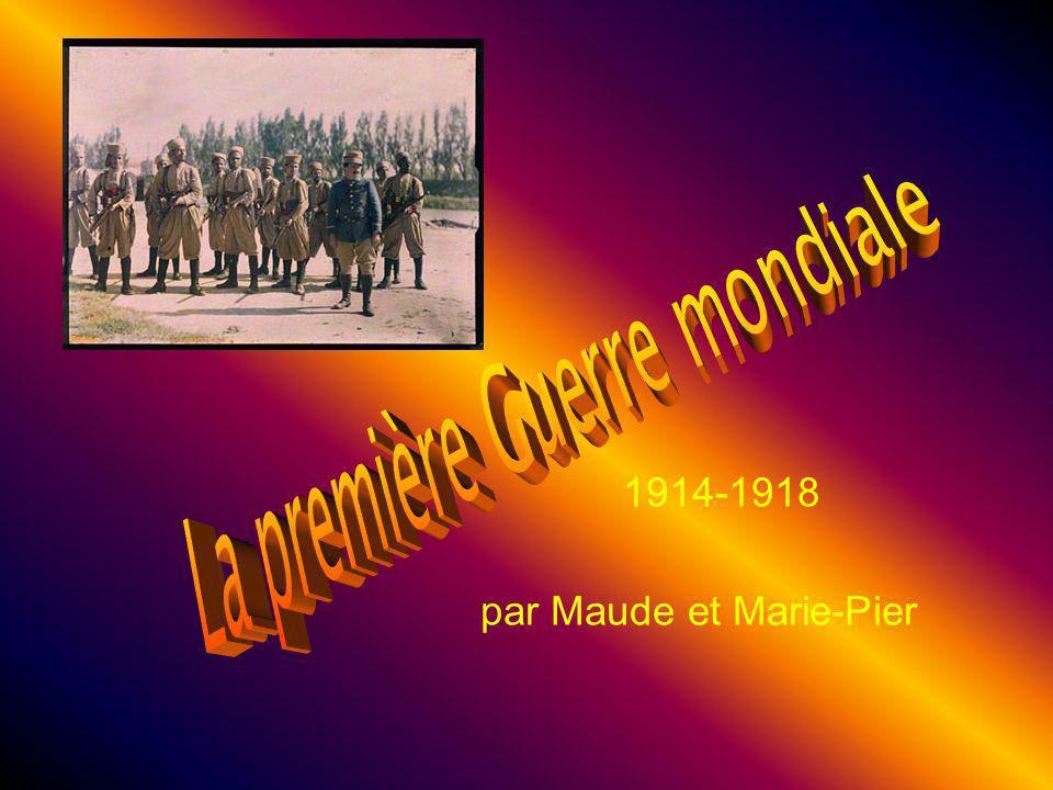 1914-1918 par Maude et Marie-Pier