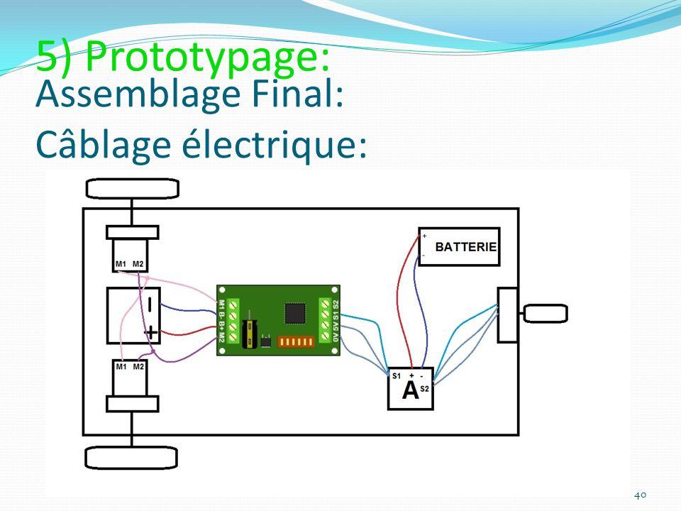 Assemblage Final: Câblage électrique: