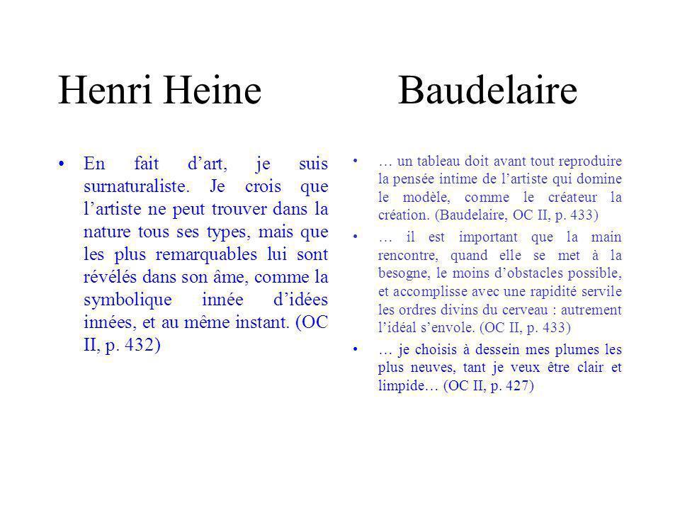 Henri Heine Baudelaire