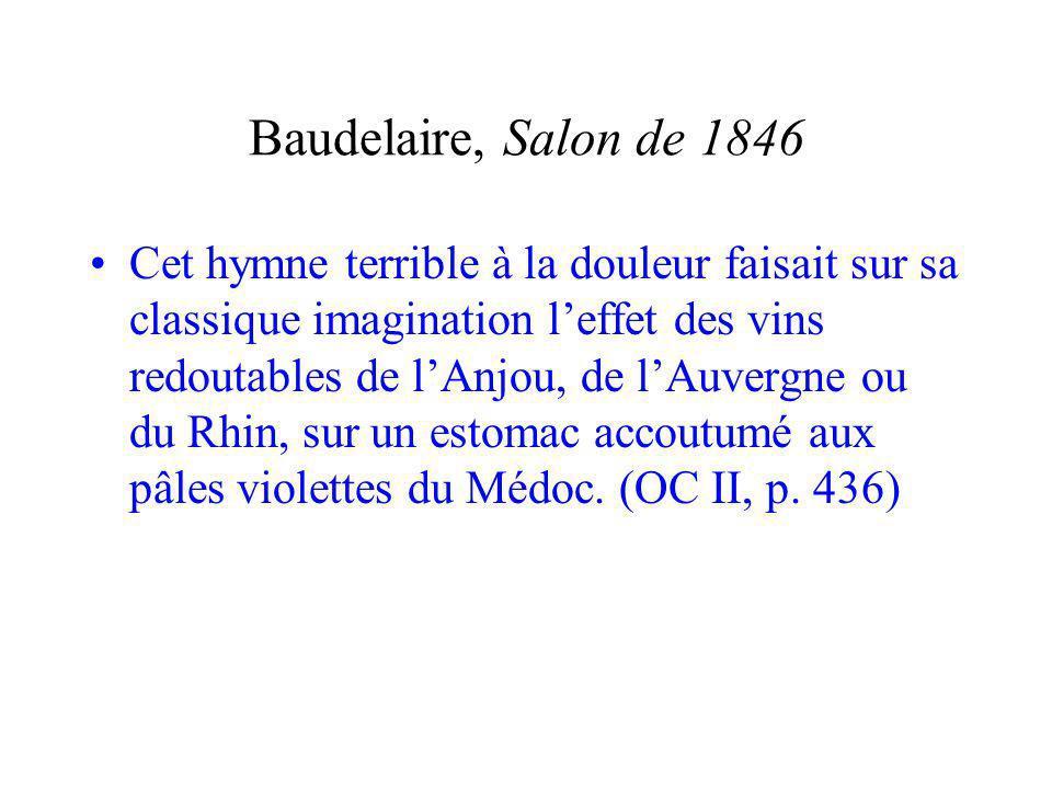 Baudelaire, Salon de 1846