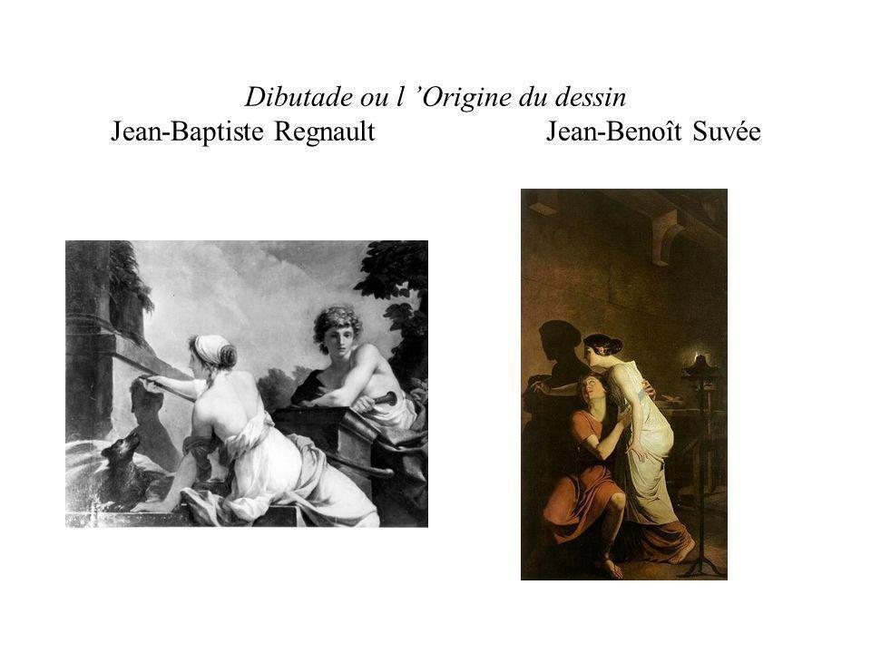 Dibutade ou l 'Origine du dessin Jean-Baptiste Regnault