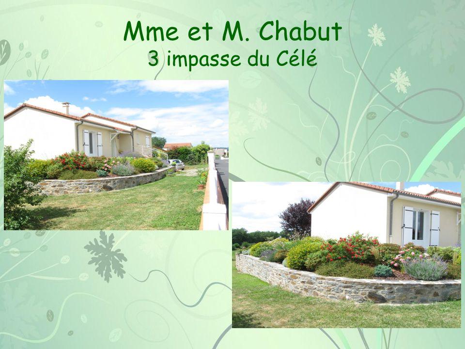 Mme et M. Chabut 3 impasse du Célé