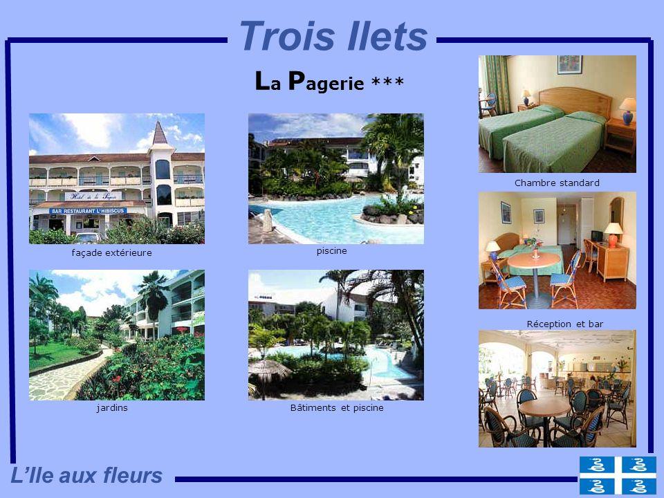 Trois Ilets La Pagerie *** L'Ile aux fleurs Chambre standard