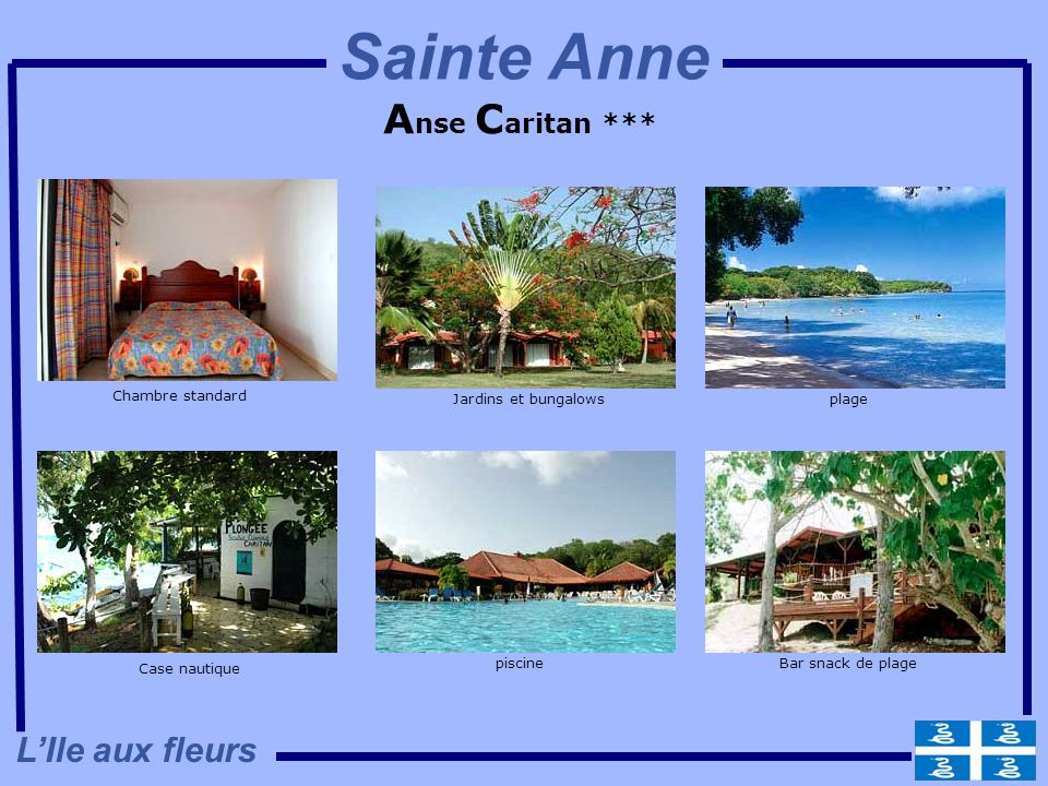 Sainte Anne Anse Caritan *** L'Ile aux fleurs Chambre standard