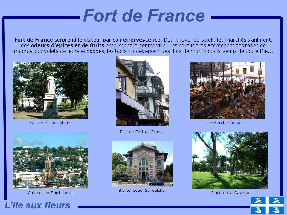 Fort de France L'Ile aux fleurs