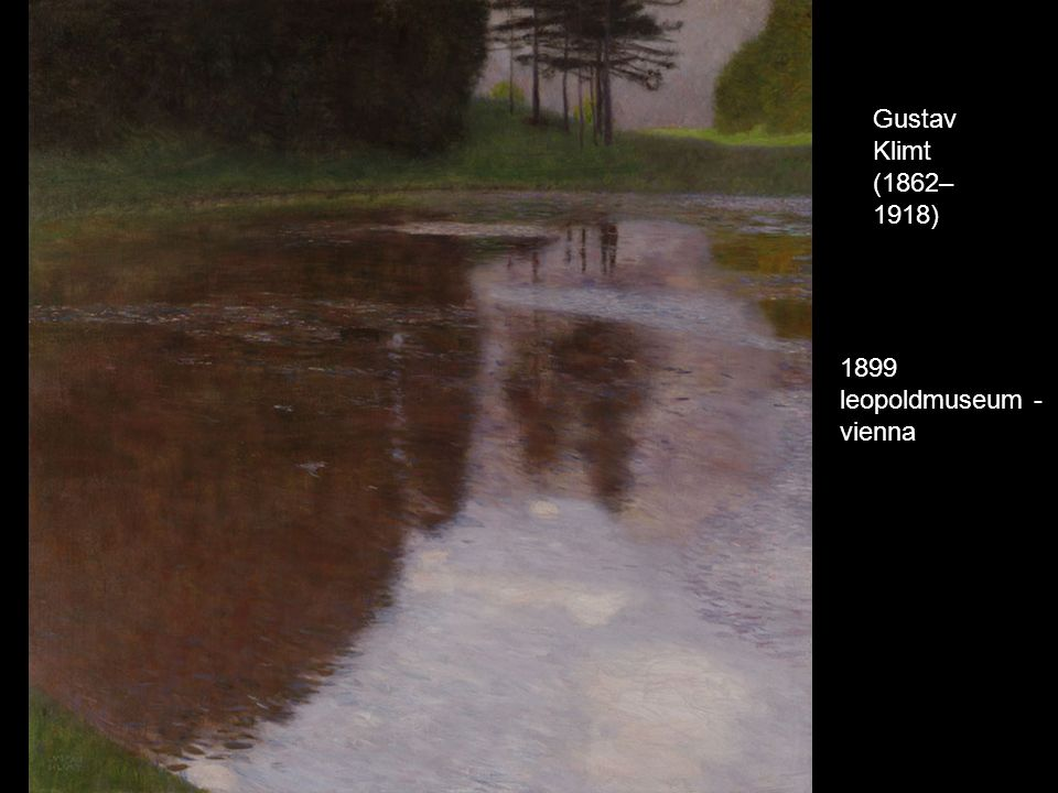 Gustav Klimt (1862–1918) 1899 leopoldmuseum - vienna