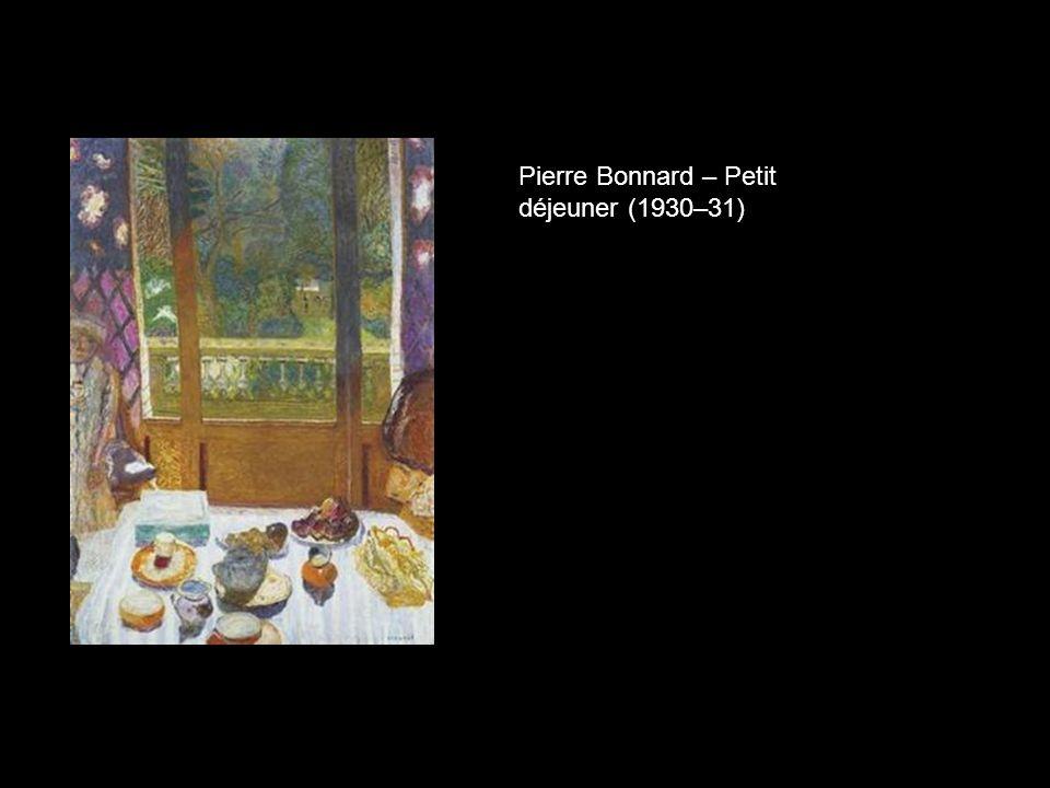 Pierre Bonnard – Petit déjeuner (1930–31)