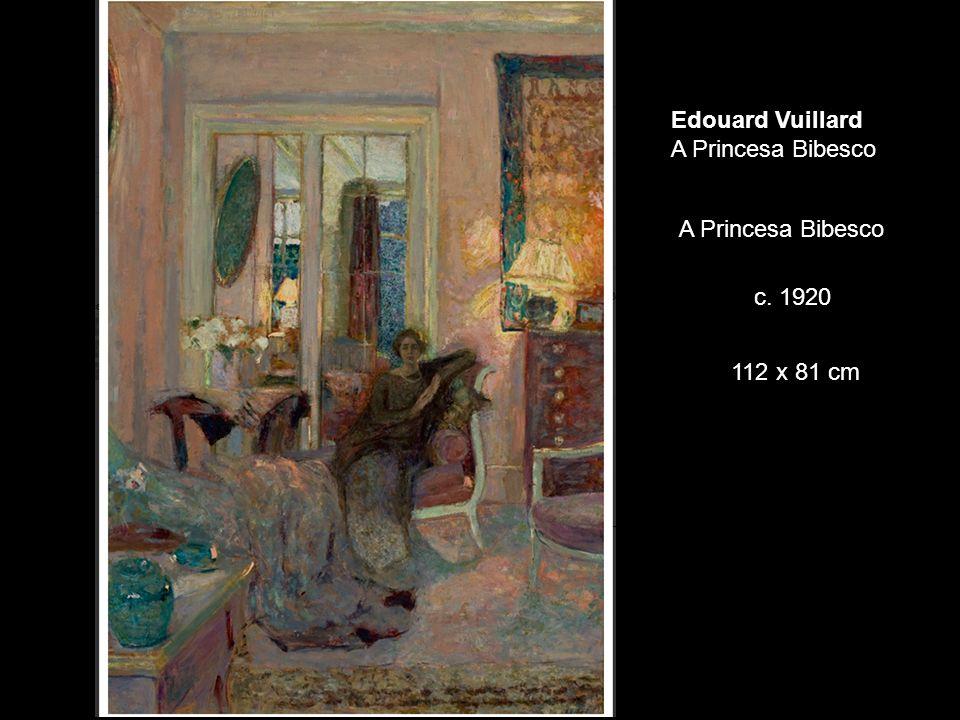 Edouard Vuillard A Princesa Bibesco