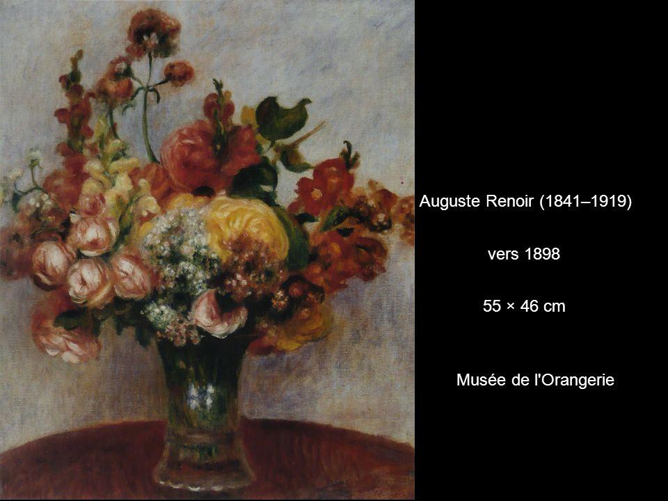 Auguste Renoir (1841–1919) vers 1898 55 × 46 cm Musée de l Orangerie