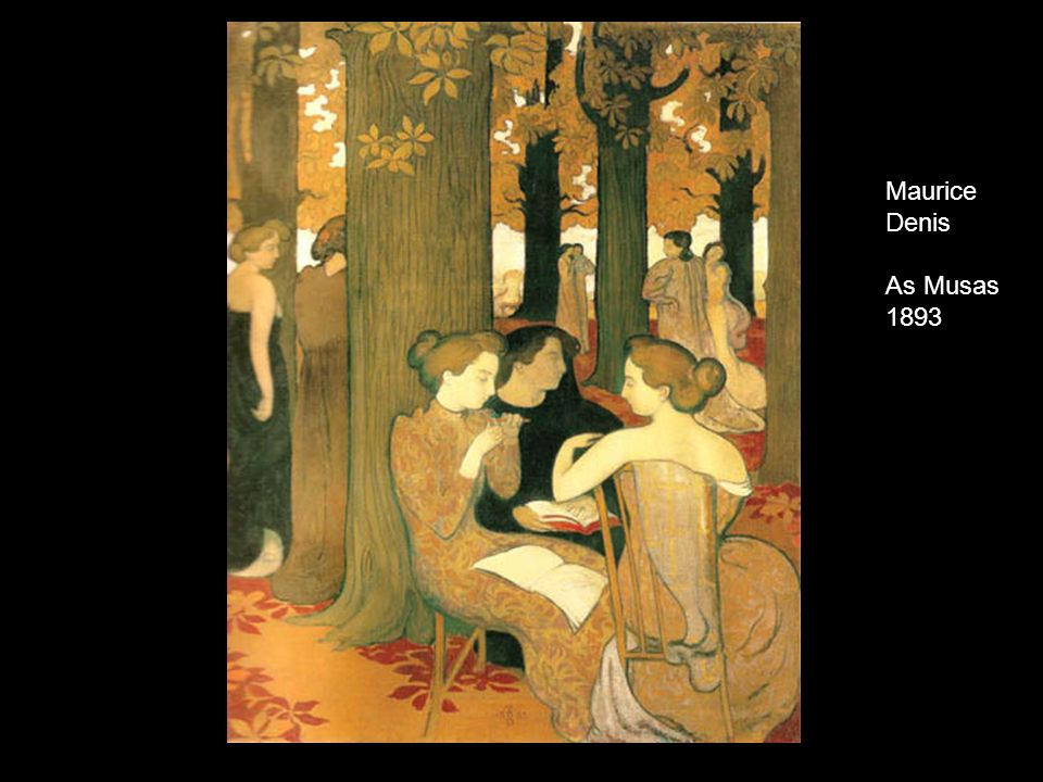 Maurice Denis As Musas 1893