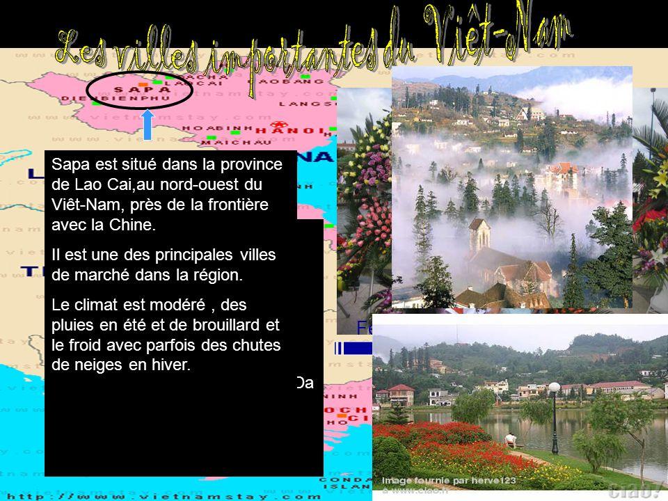 Les villes importantes du Viêt-Nam