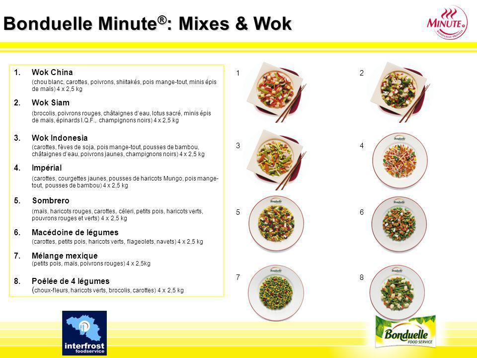 Bonduelle Minute®: Mixes & Wok