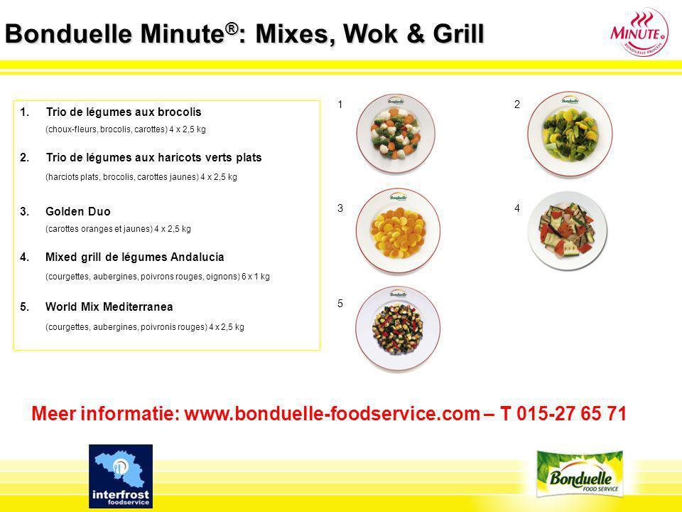 Bonduelle Minute®: Mixes, Wok & Grill