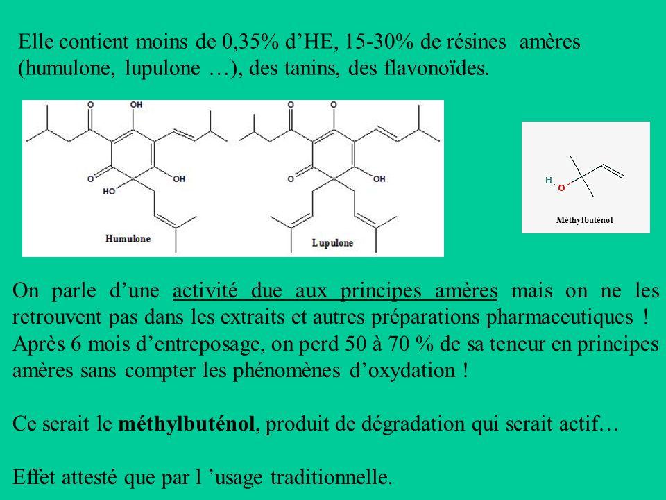 Ce serait le méthylbuténol, produit de dégradation qui serait actif…