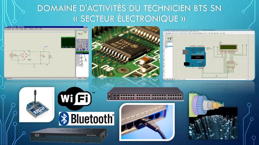 Domaine d activités du technicien BTS SN « secteur électronique »
