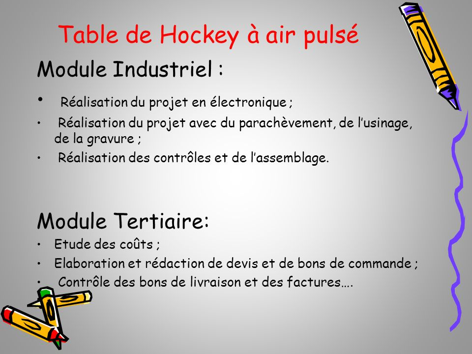 Table de Hockey à air pulsé