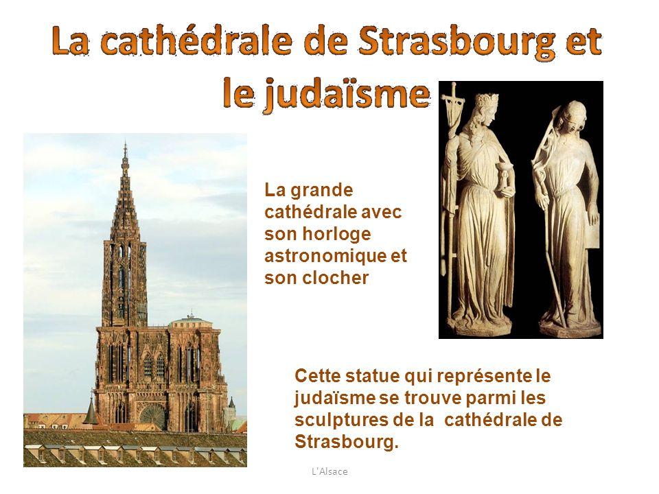 La grande cathédrale avec son horloge