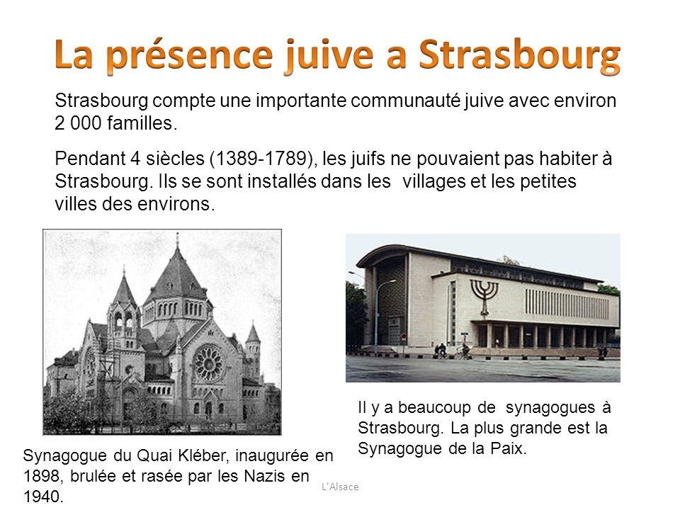 La présence juive a Strasbourg