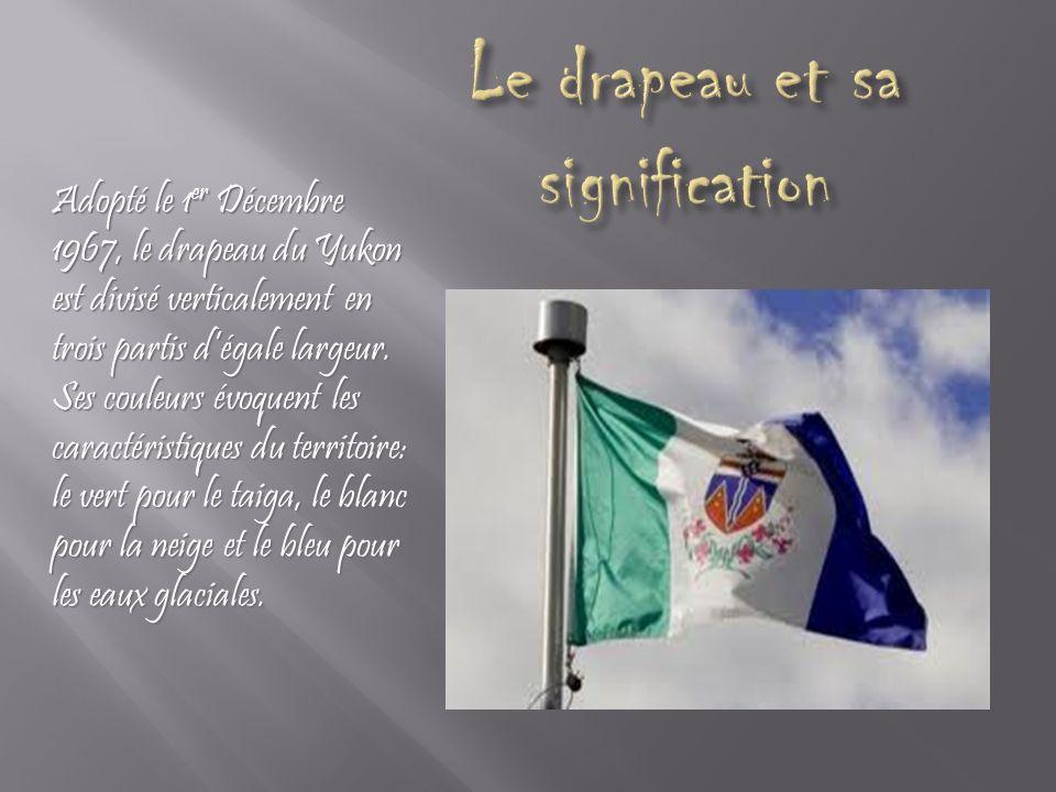 Le drapeau et sa signification