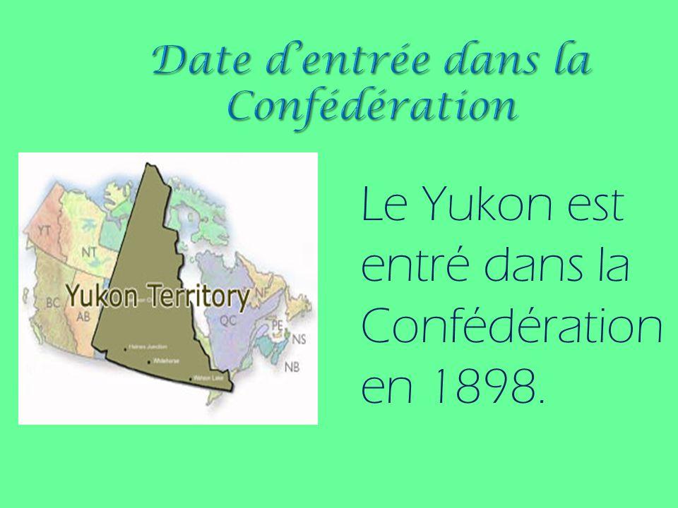 Date d'entrée dans la Confédération