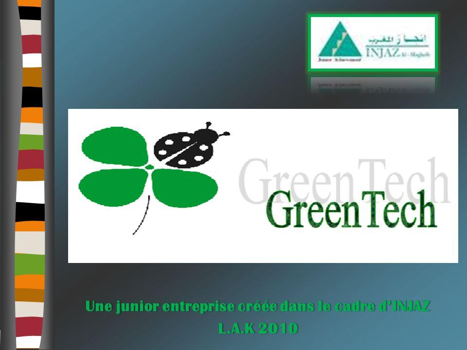Une junior entreprise créée dans le cadre d'INJAZ