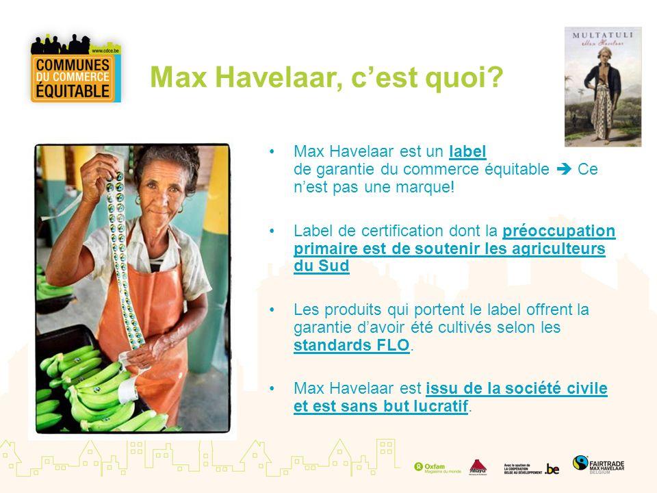 Max Havelaar, c'est quoi
