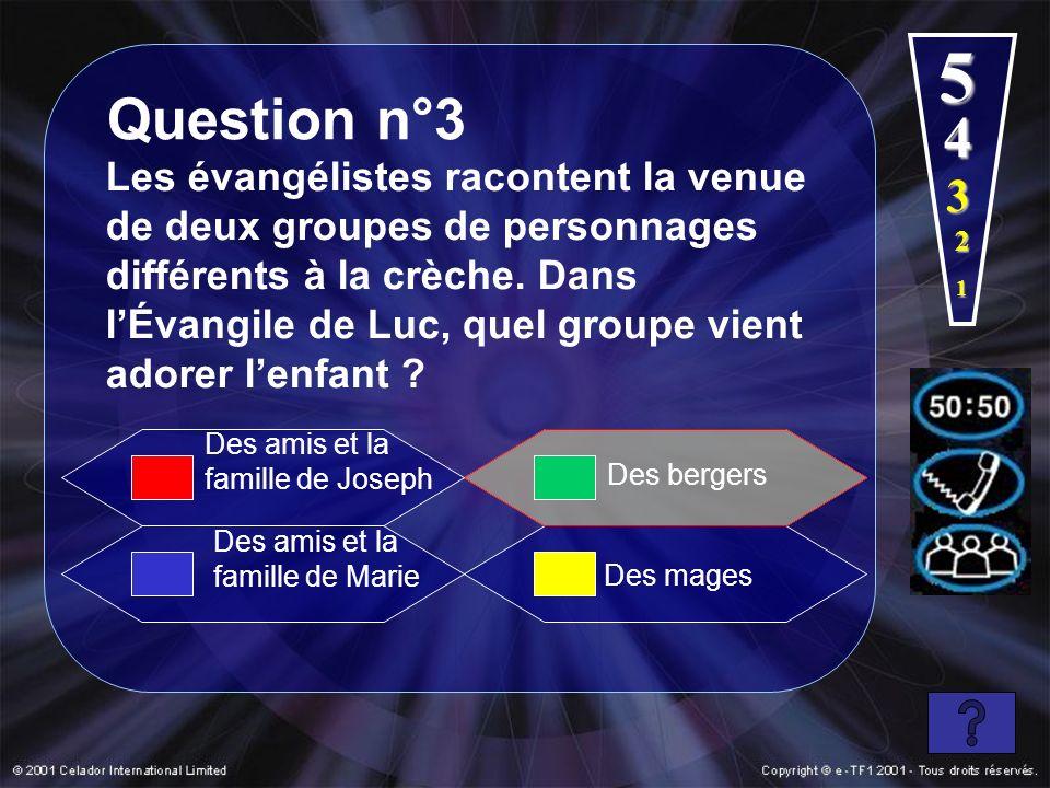 5 Question n°3. 4.