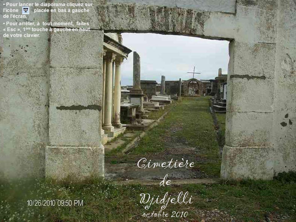 Cimetière de Djidjelli octobre 2010