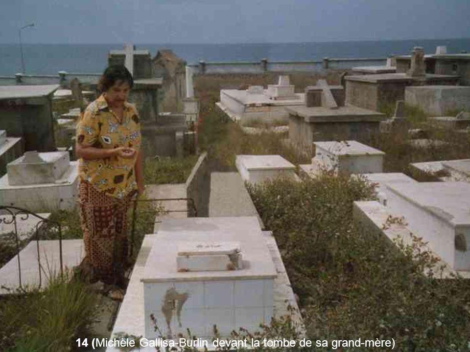 14 (Michèle Gallisa-Burlin devant la tombe de sa grand-mère)