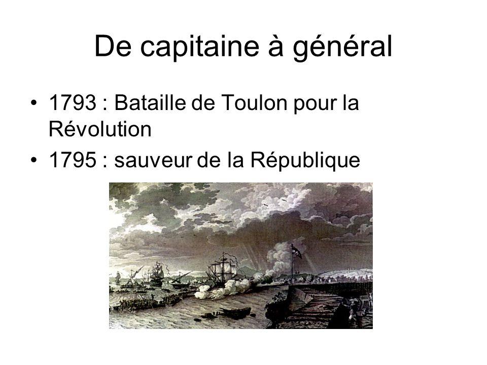 De capitaine à général 1793 : Bataille de Toulon pour la Révolution