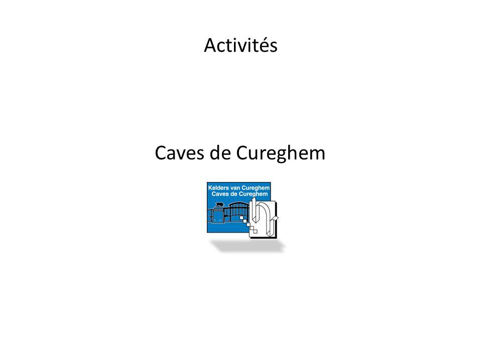 Activités Caves de Cureghem