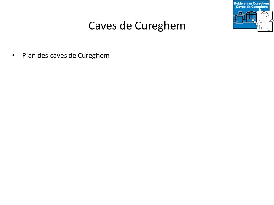 Caves de Cureghem Plan des caves de Cureghem