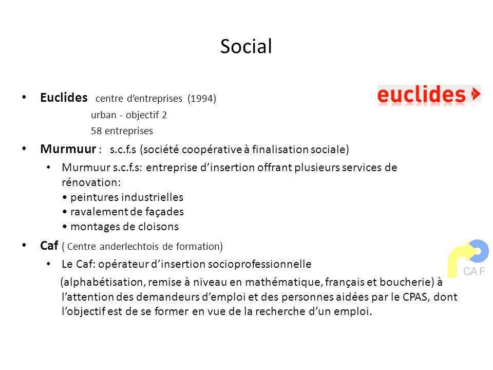 Social Euclides centre d'entreprises (1994)