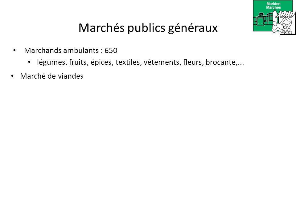 Marchés publics généraux