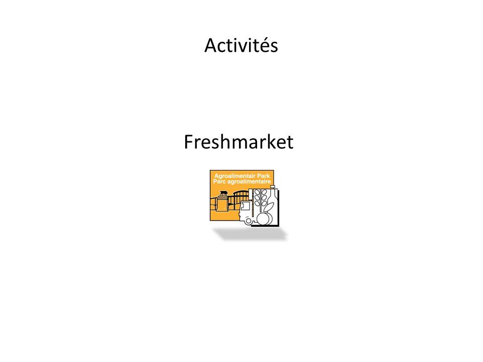Activités Freshmarket
