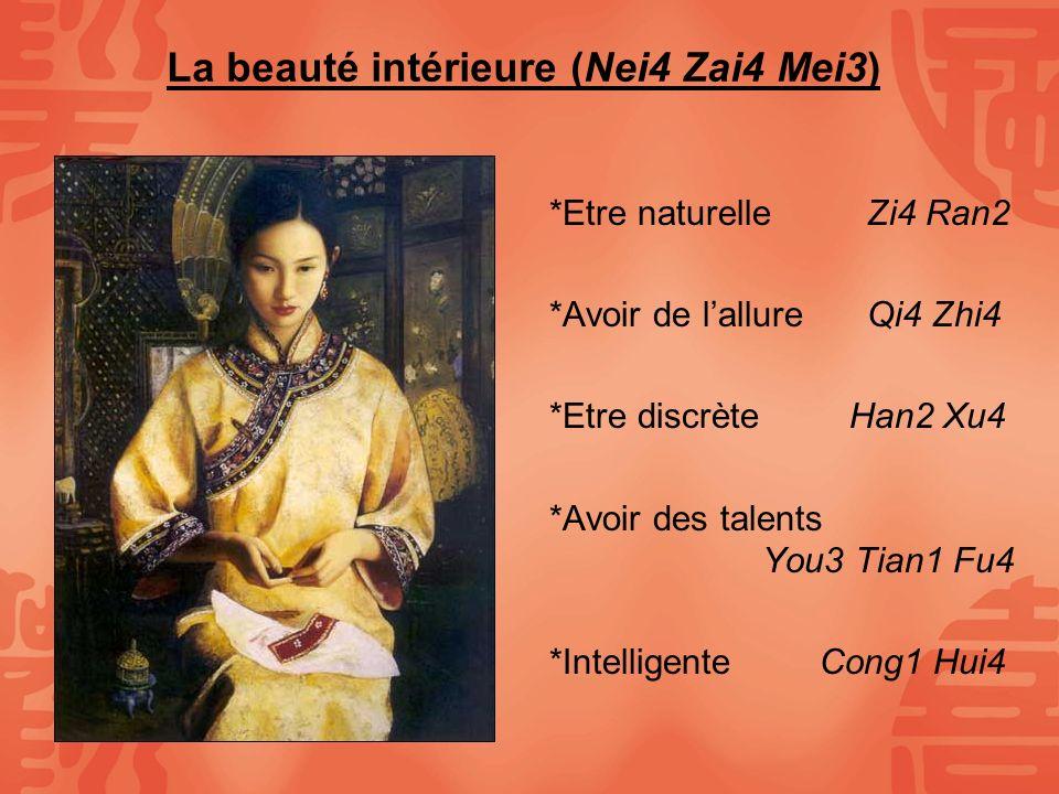 La beauté intérieure (Nei4 Zai4 Mei3)