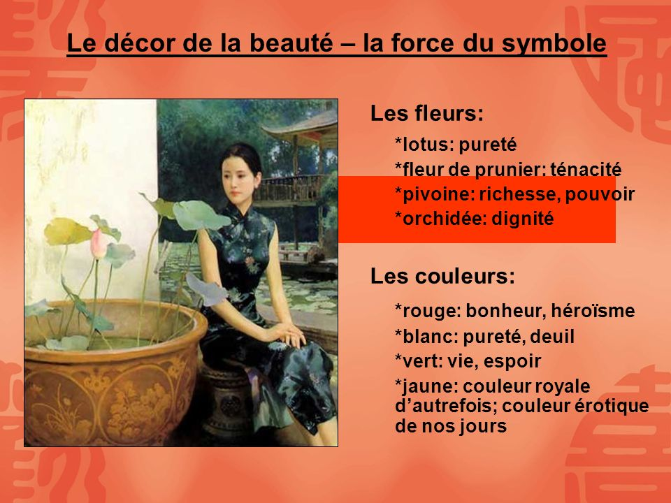La notion de beaut en chine ppt video online t l charger - Symbole de la force interieure ...
