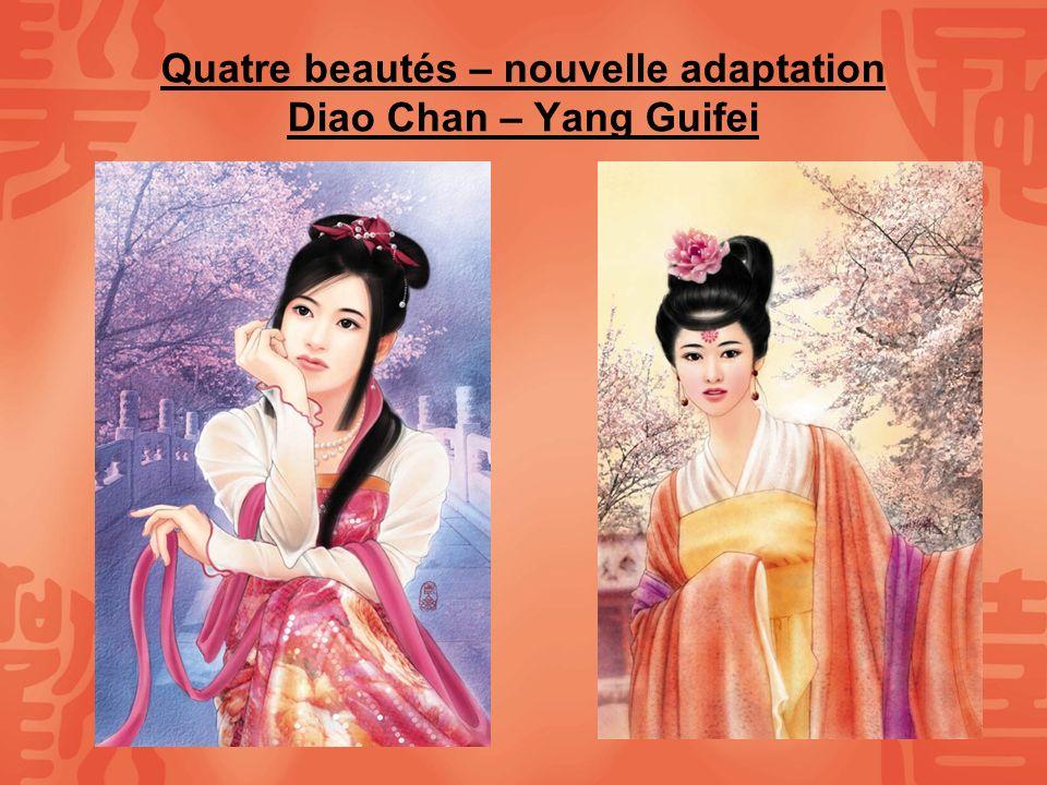 Quatre beautés – nouvelle adaptation Diao Chan – Yang Guifei