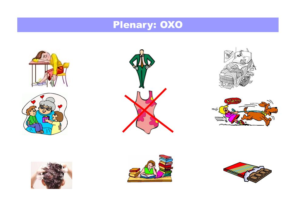 Plenary: OXO