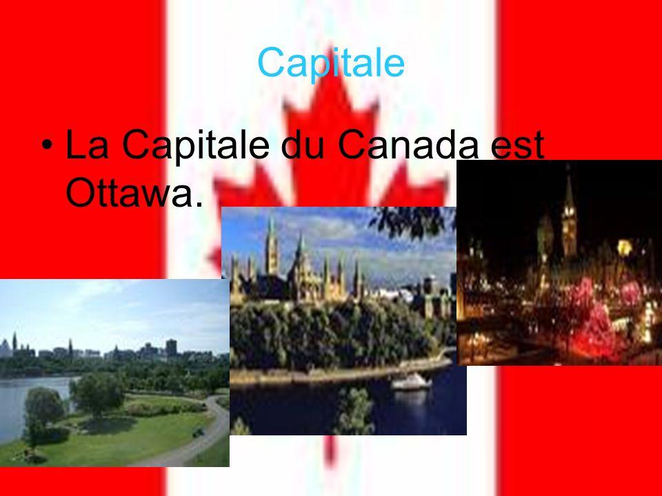 Capitale La Capitale du Canada est Ottawa.